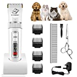 Best Cordless Dog Clippers - AFBEST Pet Grooming Clippers, 3-Speed Low Noise Professional Review