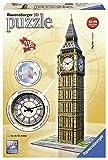 Ravensburger 125869- Big Ben mit echter Uhr, 216 Teilig Bauwerke