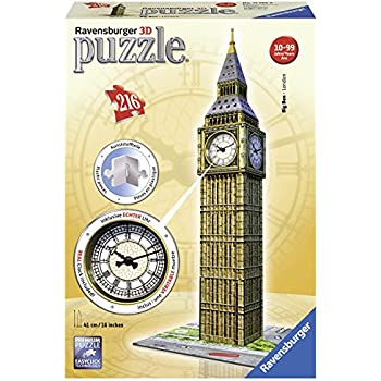 Ravensburger Big Ben with Clock, 216pc 3D Jigsaw Puzzle®