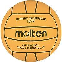 60x Molten iwr pelotas de agua Water Polo Agua Fútbol Oficial tamaño Peso Water Polo + RS de Sports Bolígrafo, amarillo, 5