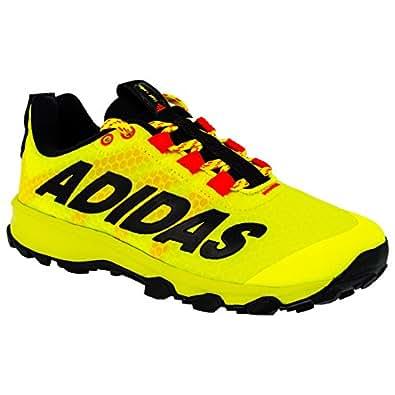 adidas Scarpe da Corsa bambini Giallo Giallo Fluo, Giallo (Giallo Fluo), 35