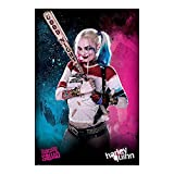 Poster Suicide Squad - Harley Quinn Good Night - preiswertes Plakat, XXL Wandposter