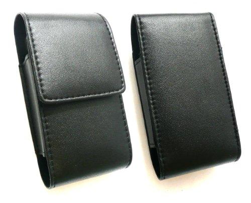 Emartbuy ® Black Premium Pu Leder Slide In Pouch / Case / Sleeve / Halter Mit Button Flap Geeignet Für Huawei G6151