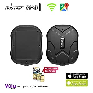 TKSTAR Mini Waterproof Tracking Device with Powerful Magnet Long Standby GPS Tracker Locator for Kids Seniors Pets Cars (FREE CUSTOMER SUPPORT MON-FRI VIA VULU GLOBAL) 7