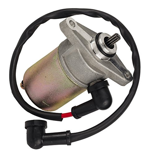 OuyFilters GY6 49CC 50CC 60CC 72CC 139QMB Scooter Moped 10 Teeth Electric Starter Motor Starting New