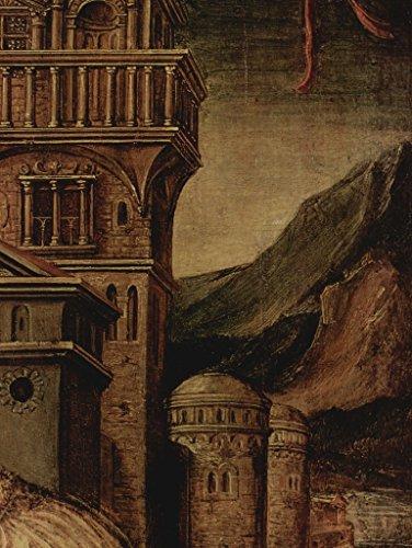 Lais Puzzle Ambrosius Holbein - Porträt eines jungen Mannes, Detail: Architektur 1000 Teile