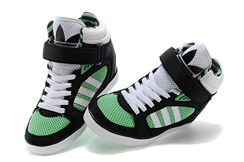 huge selection of a74c2 b6d61 Adidas Amberlight UP W Scarpe Sneakers Nero Verde Bianco per