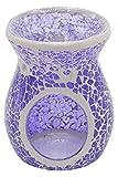 CANDLE-LITE Teelicht Duftlampe, Musina, Lila, 9 x 9 x 10 cm