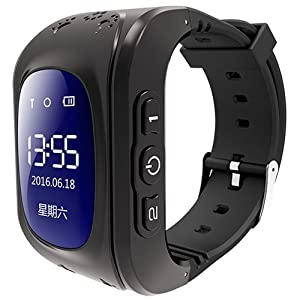 Pin iT Intigo P1 GPS Tracking Smart Watch for Children with 2-Way Channel Communication and SOS Feature