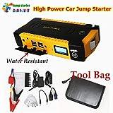 Best Battery Booster Packs - Portable Car Jump Starter 16000mah Power Bank Emergency Review