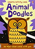 Animal Doodles (Usborne Activity Cards)