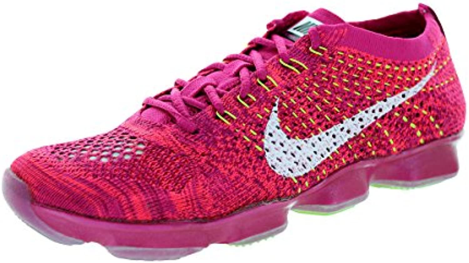Nike Wmns Flyknit Zoom Agility   frbrry/wht hypr pnch rspbrry