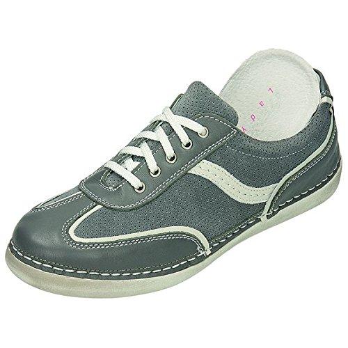 Zen Chaussures pour Femme Sportif 340736 Gris - grau/weiss