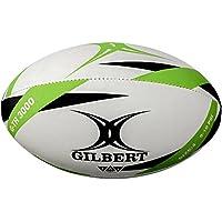 Gilbert G-TR3000 Pelota de Rugby, Unisex Adulto, Verde, 4