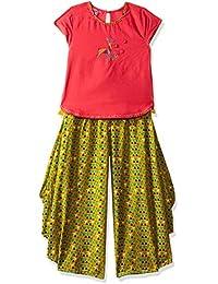 Biba Girls Straight Salwar Suit Set
