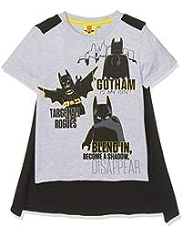 LEGO Official Batman Boys Short Sleeve Top, T-Shirt 100% Cotton 3-10 Years New 2017