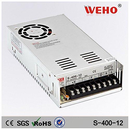 Weho S-400-12 Alimentatore 12Vdc 33A 220/230V 2,8A