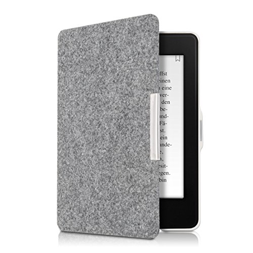kwmobile Amazon Kindle Paperwhite Hülle - Filz Stoff eReader Schutzhülle Cover Case für Amazon Kindle Paperwhite (für Modelle bis 2017)