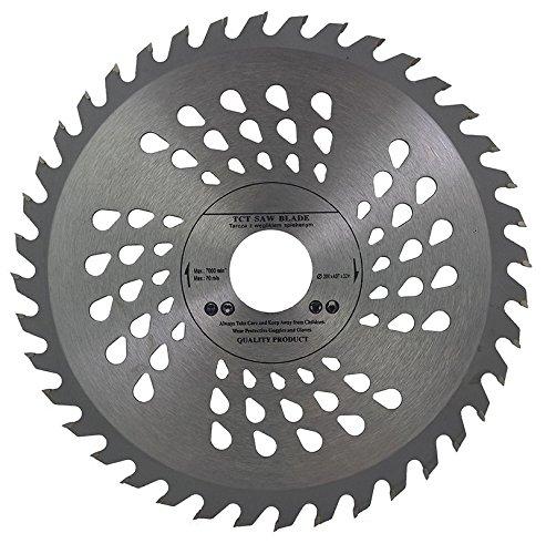 Kreissägeblatt für Handkreissägen, besonders hochwertig, 200mm x 32mm, mit Bohrung inkl. Reduzierungsringen von 30mm, 28mm, 25mm, 22 mm und 20 mm, für Holzarbeiten, 40Zähne