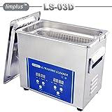 limplus professionale commerciale pulizia ad ultrasuoni 40KHz Riscaldatore con timer per iniettore Filtro olio auto Parts carburatore PCB