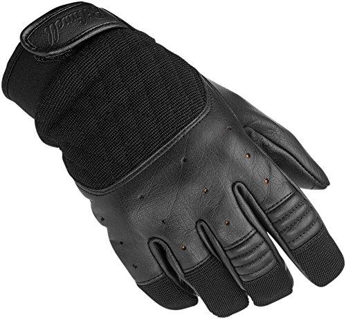 biltwell Motorräder Leder Textil Handschuhe Bantam schwarz groß groß
