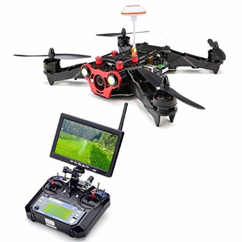 Fulltime® Racer 250FPV - Dron de fibra de carbono 22042300KV,Motor sin escobillas,...