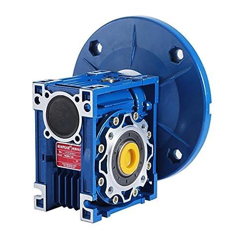 SucceBuy Worm Gear Reducer High Torque Speed Reducer Ratio 56C Speed Reducer Gearbox RV50