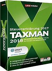 Lexware Taxman 2018 Minibox|Übersichtliche Steuererklärungssoftware für Arbeitnehmer, Familien, Studenten und im Ausland Beschäftigte|Kompatibel mit Windows 7 oder aktueller