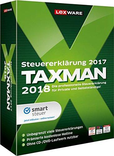 7 Windows Familie (Lexware TAXMAN 2018 Minibox/Übersichtliche Steuererklärungssoftware für Arbeitnehmer, Familien, Studenten und im Ausland Beschäftigte/Kompatibel mit Windows 7 oder aktueller)