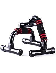 E-PRANCE Poignées de Support pour Salle de Sport,Barres de Push Up pour Appareil de Musculation,Fitness de Faire Pompes