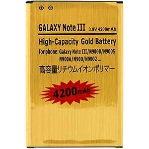 Avizar - Batterie Haute Capacité compatible Samsung Galaxy Note 3 - 4200mAh