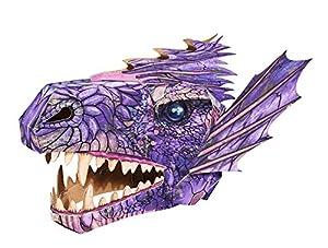 Simba 106304079 - Cabezal de Papel 3D con diseño de libélula