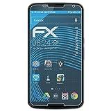 atFolix Schutzfolie kompatibel mit Google Nexus 6 Folie, ultraklare FX Bildschirmschutzfolie (3X)
