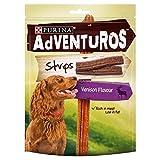 Adventuros Dog Treats Venison Flavour Strips 90g (PACK OF 2)