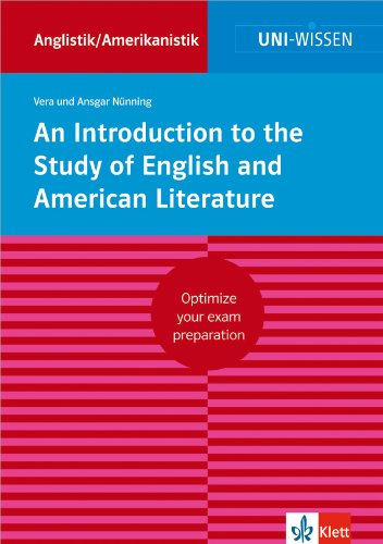 An Introduction to the Study of English and American Literature por Vera Nünning