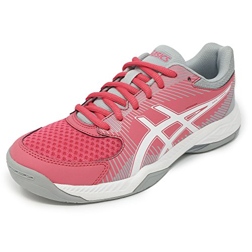 Asics Gel Task, Chaussures de Volleyball Femme Rouge (Rouge Red/white/mid Grey)