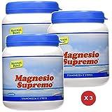 Magnesio Supremo Polvere Solubile 300 gr. - Natural Point 3 Confezioni
