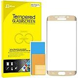 """S6 Edge Plus Protector de Pantalla, JETech 0,33mm Más Delgado Pantalla Completa 5.7"""" Vidrio Templado Protector de Pantalla Empaquetado al por Menor para Samsung Galaxy S6 Edge Plus+ (Oro)"""