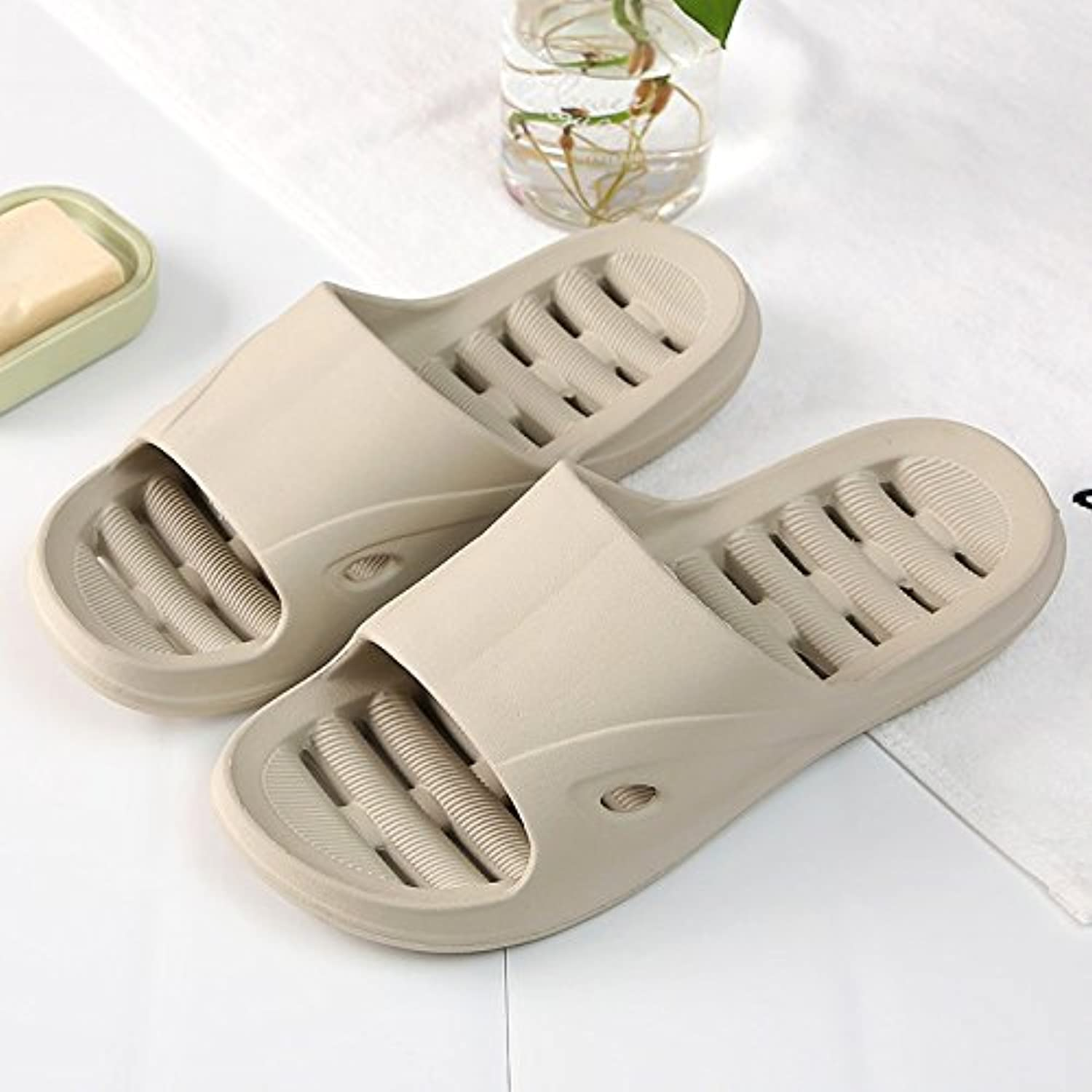 fankou The Bathroom Slippers Summer Female Couples in Your Living Room. Soft, Non-Slip Shower Exposed Fast Dry...
