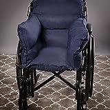Full Comfort Rollstuhlkissen, Rollstuhlsitzkissen, Total Rollstuhlkissen, Recliner Oder Stuhlkissen Für Ältere Behinderte, Navy