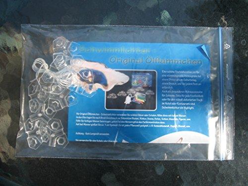 Schwimmlichter Original - Öl-Flämmchen 10 Stück im Klarsichtbeutel (ohne Geschenkkarton) -