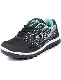 Asian Shoes RIYA 21 Black Firozi Women Sports Shoes