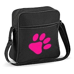 iClobber Dog Paw Print Shoulder Bag Design Small Bag FB