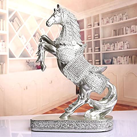 LongGu European Style Decoration Resin Animal Horse Study The Living Room Office Decoration Decoration Home Furnishing