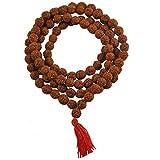 Krisah Rudraksha Mala (5 Mukhi) 108+1 Beads