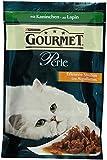 Gourmet Perle Katzenfutter Erlesene Streifen mit Kaninchen, 24er Pack (24 x 85 g) Beutel