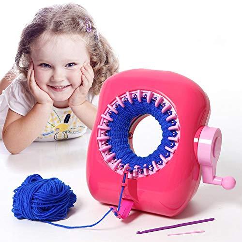 Per Jouets Machine À Coudre pour Enfants Enfants Loom Machine DIY Portable Manuel Jouets Éducatifs Cadeau Créatif pour Hcer Foulards Chapeaux