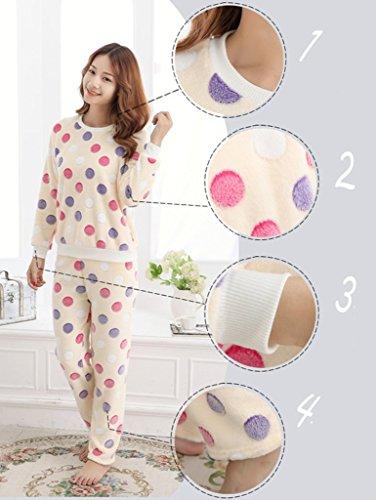 Remeehi Damen Schlafanzug Beige - 1#