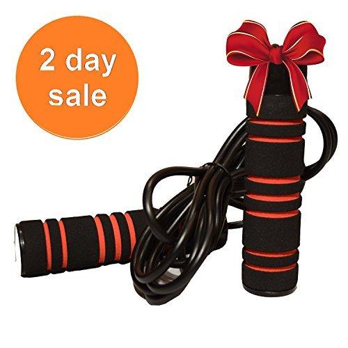 Pulse Crossfit 1Lb Weighted Rope Springseil mit Memory-Schaum Griffe und Gewichtet Speed Kabel