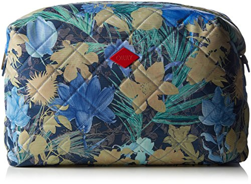 Oilily FF L Toiletry Bag, Nécessaire Femme - Bleu - Blau (Blueberry 546), 31x20x11 cm (B x H x T)